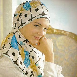 Wearing Hijab Muslim Girls